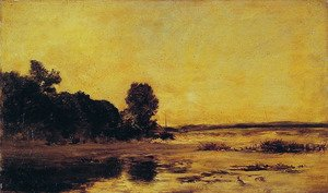 Charles-Francois Daubigny - By the Sea