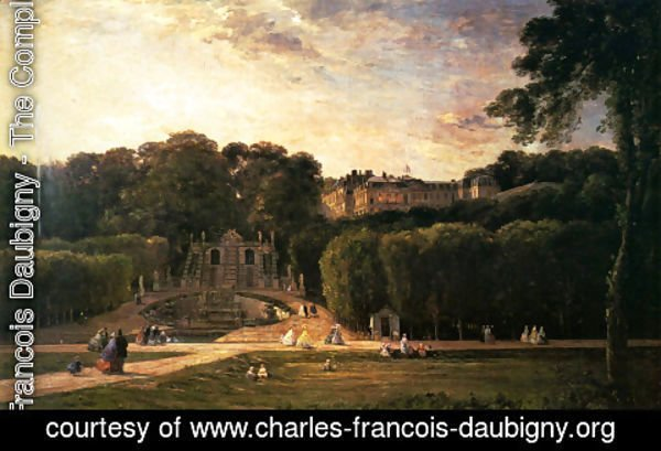 Charles-Francois Daubigny - The Park At St. Cloud
