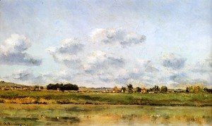 Charles-Francois Daubigny - Banks Of The Loing