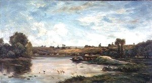 Charles-Francois Daubigny - On the Loire