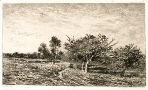 Apple Trees at Auvers (Pommiers a Auvers), 1877