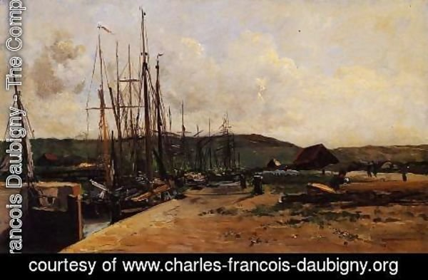 Charles-Francois Daubigny - Fishing Port