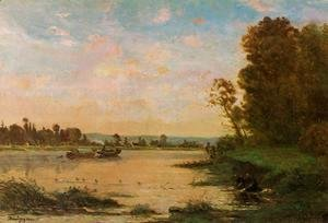 Charles-Francois Daubigny - Summer Morning on the Oise