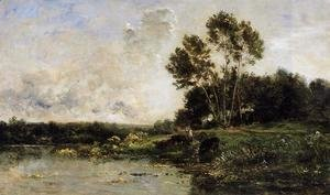 Charles-Francois Daubigny - The Banks of the Oise