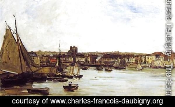 Charles-Francois Daubigny - The Port of Dieppe