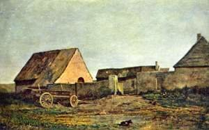 Charles-Francois Daubigny - The Farm