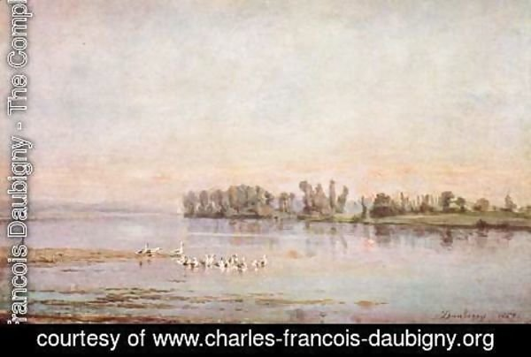 Charles-Francois Daubigny - The morning