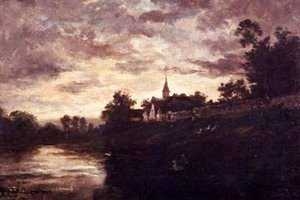 Charles-Francois Daubigny - Banks of the Oise