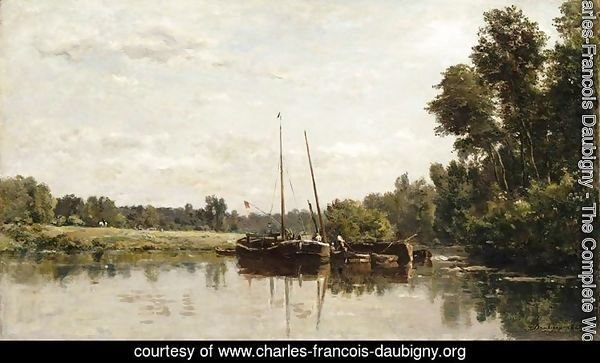 The barges