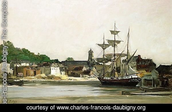 The Harbour at Honfleur